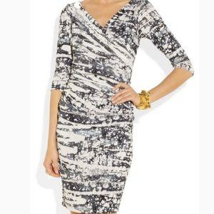 Diane vonFurstenberg Bentley marble print dress